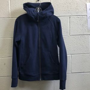 Lululemon blue zip up sweatshirt, sz 8, 63630